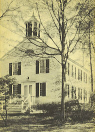 The original Town House or Town Hall, first used in 1832